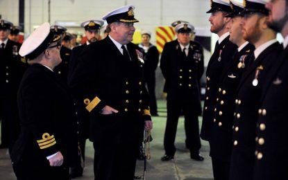 El Comodoro Walliker será el nuevo Comandante de las Fuerzas Armadas Británicas en Gibraltar