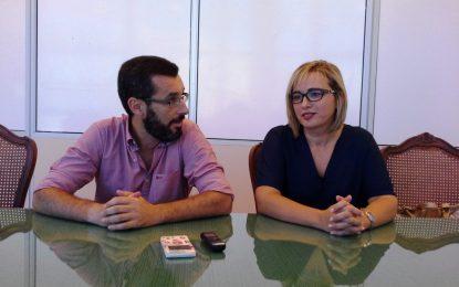 Susana González ha nombrado hoy supervisora de Festejos a Lola Cabello, comunicándoselo al resto de trabajadores