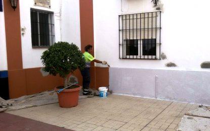 Comienzan los trabajos de mejoras en el cementerio de cara a las festividades de noviembre