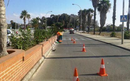 Trabajos realizados por Parques y Jardines en la semana que ahora acaba