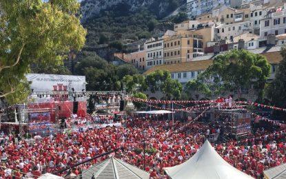 Picardo, en el National Day: «Gibraltar superará cualquier dificultad que pueda presentar el Brexit»