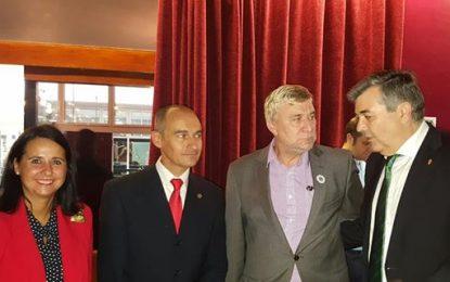 Luis Angel Fernández y Steven Linares inauguran las XIII Jornadas de historia del Campo de Gibraltar