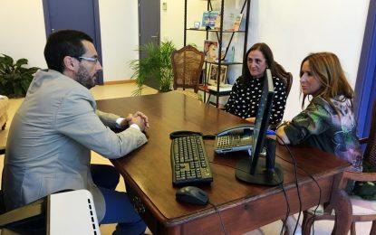 La delegada territorial de Empleo de la Junta anuncia la nueva Lanzadera de Empleo