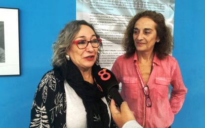 Las actrices Luisa Gavasa y Consuelo Trujillo encandilan a varios centenares de estudiantes en los V Encuentros de Cine
