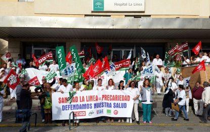 El SAS dice que negocia y trata con los sindicatos sanitarios del Hospital de La Línea