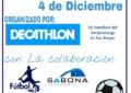 Decathlon Los Barrios realiza un torneo de futbito solidario