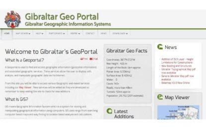 El geoportal de Gibraltar se actualiza y es uno de los pocos en cumplir la norma europea