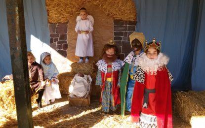El colegio Atunara gana el I premio del concurso de belenes de la Oferta Educativa Municipal