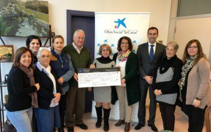 La Obra Social de la Caixa entrega 10.500 euros a seis colectivos sociales
