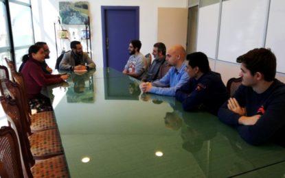 Alumnos del IES Mediterráneo finalizan sus prácticas en el Ayuntamiento