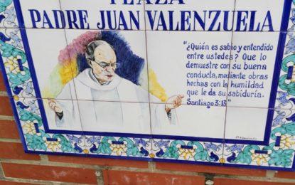 Reinaugurado el monolito de la Plaza Padre Juan Valenzuela