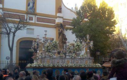 La Línea vivió hoy con intensidad la procesión de la Inmaculada Concepción