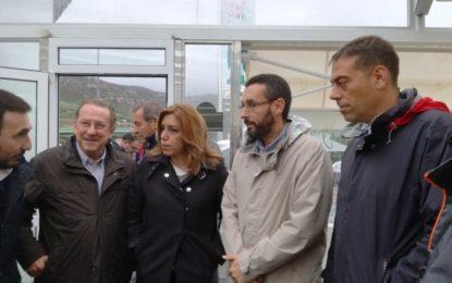 La presidenta de la Junta de Andalucía confirma que está en contacto con el Gobierno de España para destinar un plan de ayudas de emergencia ante el fuerte temporal de lluvias