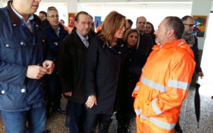 El PSOE valora la coordinación entre administraciones para atender al grave problema de las inundaciones