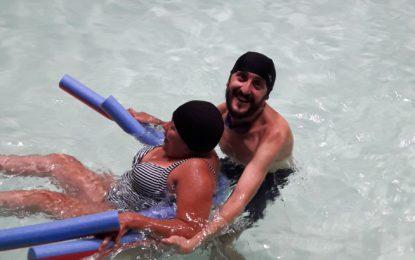 """""""En la piscina sí se puede"""" nuevo servicio de Fegadi Cocemfe"""