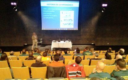 El Palacio de Congresos acoge una conferencia sobre medicina subacuática e hiperbárica