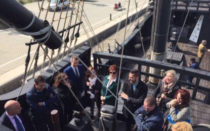 La Nao Victoria podrá visitarse en Alcaidesa Marina hasta el 28 de febrero