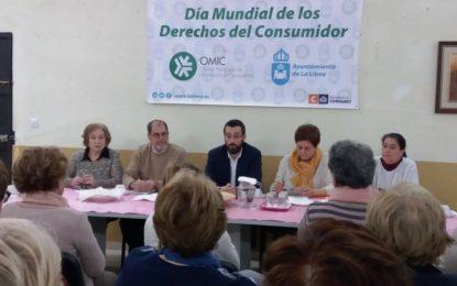 Conmemoración del Día Mundial de los Derechos del Consumidor en la sede de Alborada