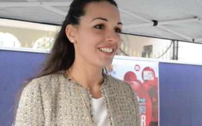 Kaiane López, la ex Miss Mundo, será alcaldesa de Gibraltar a partir del cuatro de abril