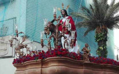 Devoción en el inicio de la Semana Santa de La Línea