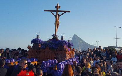 Itinerarios de procesiones de Domingo de Ramos y Lunes Santo en La Línea