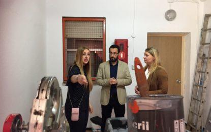 El colegio Andalucía, primero de una ronda de visitas del alcalde por los centros educativos de La Línea
