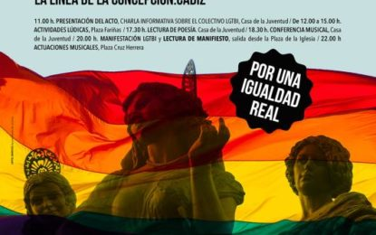El I Orgullo LGTBI del Campo de Gibraltar, mañana en La Línea