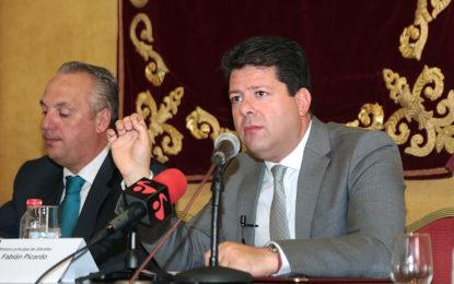 Picardo inaugura el seminario sobre Gibraltar y el Campo de Gibraltar ante el Brexit