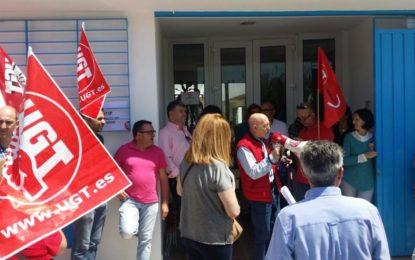 Huelga en el Hogar de la Concepción, centro de menores de La Línea
