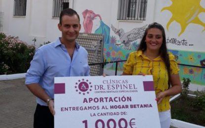 Importante donativo de Clínicas Doctor Espinel a Hogar Betania