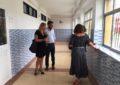 Mantenimiento Urbano finaliza los trabajos de instalación del alumbrado exterior en los colegios San Felipe, Carlos V y Rocío