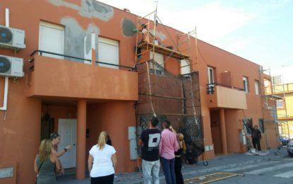 Emusvil acomete reparaciones en las viviendas de Punto Ribot y Cañada Real