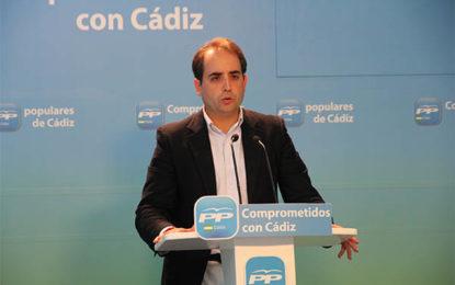 """Saldaña: """"Los parlamentarios del PP han estado, están y estarán a disposición de La Línea de la Concepción"""""""