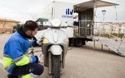 La próxima semana, ITV para ciclomotores