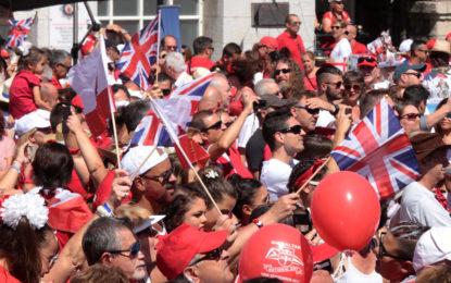 Imágenes de un National Day inolvidable en Gibraltar