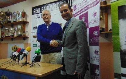 Presentado el patrocinio de Grupo Den Doctor Espinel con la Real Balompédica Linense