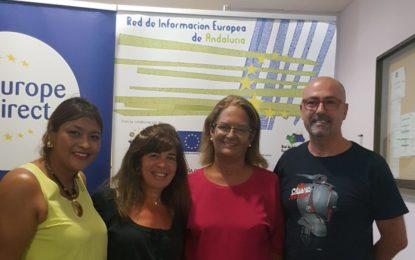 Juana Cid anima a los campogibraltareños a profundizar en el aprendizaje de las diferentes lenguas de la Unión Europea