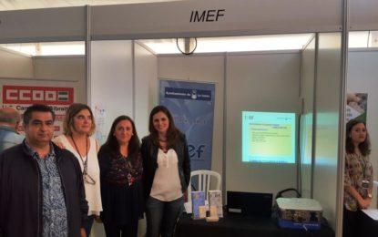 El IMEF participa con un stand en la I Feria de Empleo que se celebra en San Roque
