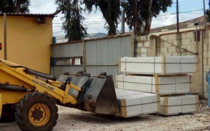 El Cementerio recibe el nuevo mobiliario urbano adquirido por el ayuntamiento