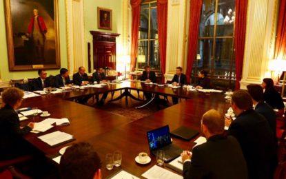 Extensas reuniones sobre el Brexit entre Gibraltar y RU en Londres