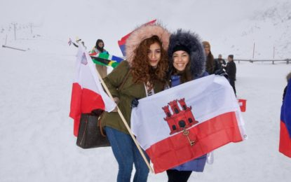 La segunda princesa de Miss Gibraltar, en Miss Supranational, en Polonia
