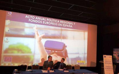 El teniente de alcalde, Mario Fernández, participa en el Acto Anual sobre Política Regional y Fondos Europeos en España