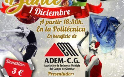"""Kimbara Imusic, presenta """"Christmas Festival Dance"""" a beneficio de  ADEM-CG el próximo 01-12-2017"""