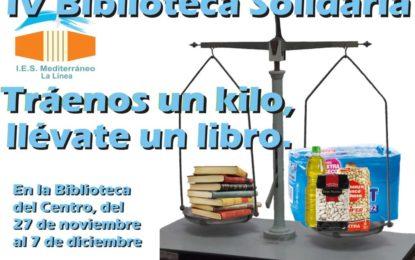 Biblioteca Solidaria en el IES Mediterráneo