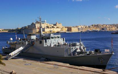 """Los buques de la Royal Navy británica """"Duque Negro"""", HMS Pembroke y HMS Diamond harán escala en Gibraltar"""