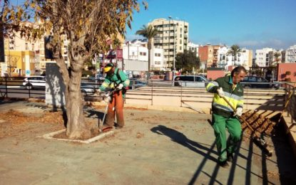 Parques y Jardines realiza más de 700 trabajos por diferentes zonas de la ciudad