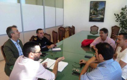 El alcalde aborda con Alaho la situación de la seguridad y posibles actividades futuras