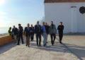 El alcalde y el subdelegado del Gobierno en Cádiz visitan las obras del Tonelero para obstaculizar la actividad del tráfico de drogas
