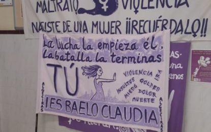 """El PCA felicita al AMPA del IES """"Baelo Claudia"""" por su implicación en combatir la violencia machista"""