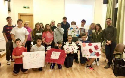 Actividades en el Gibraltar Retreat Center por parte del Plater Youth Club